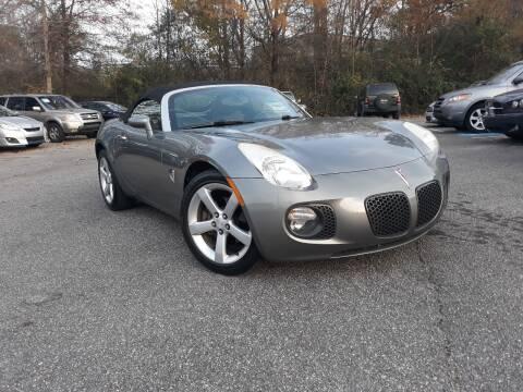 2007 Pontiac Solstice for sale at Select Luxury Motors in Cumming GA