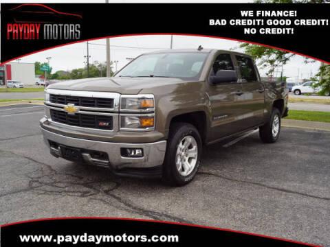 2014 Chevrolet Silverado 1500 for sale at Payday Motors in Wichita KS