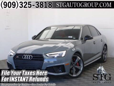 2019 Audi S4 for sale at STG Auto Group in Montclair CA