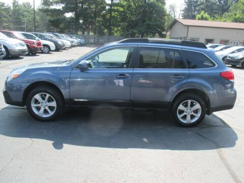 2013 Subaru Outback for sale at Home Street Auto Sales in Mishawaka IN