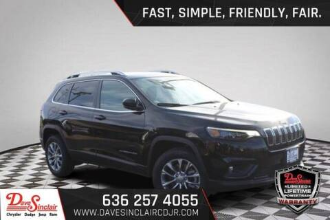 2021 Jeep Cherokee for sale at Dave Sinclair Chrysler Dodge Jeep Ram in Pacific MO