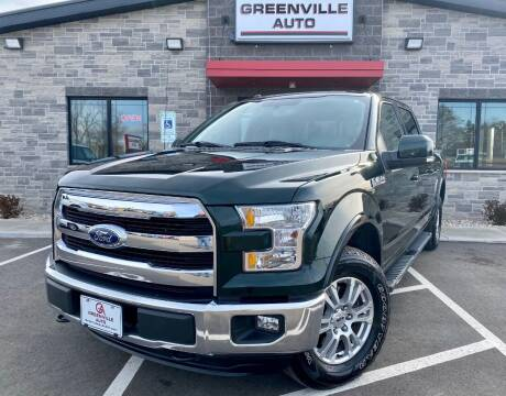 2016 Ford F-150 for sale at GREENVILLE AUTO in Greenville WI
