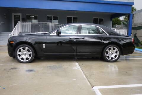 2010 Rolls-Royce Ghost for sale at PERFORMANCE AUTO WHOLESALERS in Miami FL