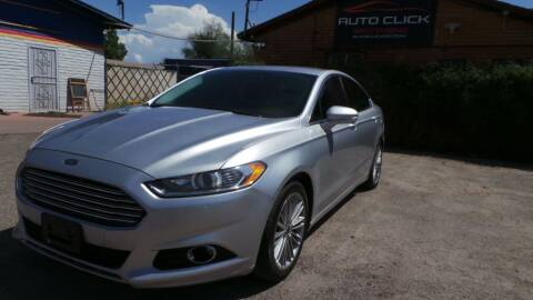 2013 Ford Fusion for sale at Auto Click in Tucson AZ