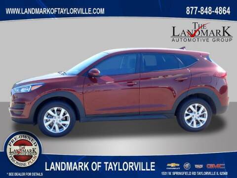 2019 Hyundai Tucson for sale at LANDMARK OF TAYLORVILLE in Taylorville IL