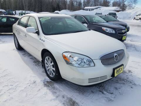 2009 Buick Lucerne for sale at Jeff's Sales & Service in Presque Isle ME