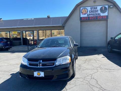 2012 Dodge Avenger for sale at Utah Credit Approval Auto Sales in Murray UT