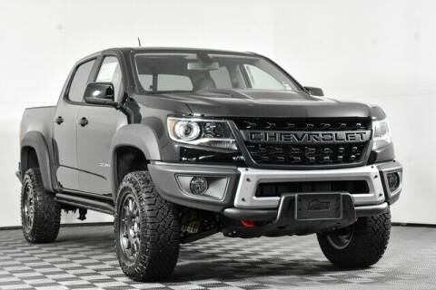 2021 Chevrolet Colorado for sale at Chevrolet Buick GMC of Puyallup in Puyallup WA