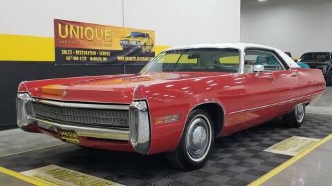 1972 Chrysler Imperial for sale at UNIQUE SPECIALTY & CLASSICS in Mankato MN