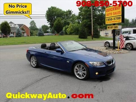 2013 BMW 3 Series for sale at Quickway Auto Sales in Hackettstown NJ