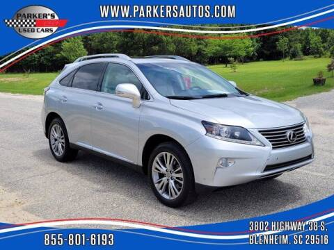 2014 Lexus RX 350 for sale at Parker's Used Cars in Blenheim SC
