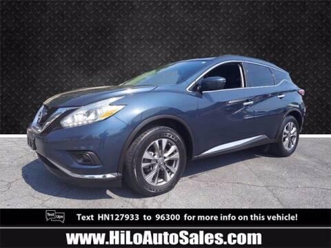 2017 Nissan Murano for sale at Hi-Lo Auto Sales in Frederick MD
