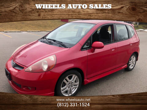2007 Honda Fit for sale at Wheels Auto Sales in Bloomington IN