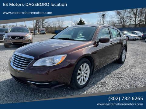 2013 Chrysler 200 for sale at ES Motors-DAGSBORO location in Dagsboro DE