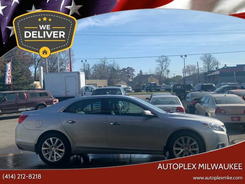 2015 Chevrolet Malibu for sale at Autoplex Milwaukee in Milwaukee WI