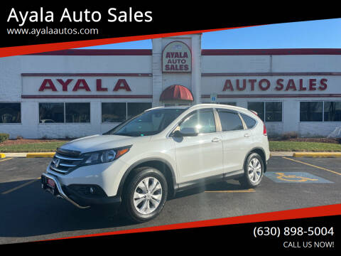 2013 Honda CR-V for sale at Ayala Auto Sales in Aurora IL