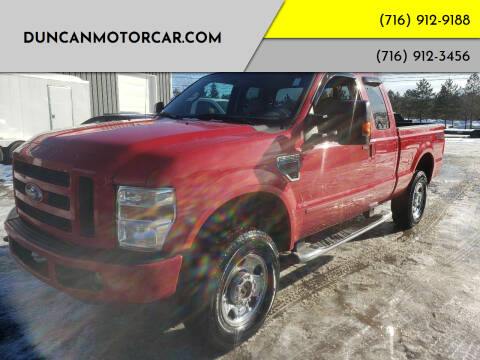 2008 Ford F-250 Super Duty for sale at DuncanMotorcar.com in Buffalo NY