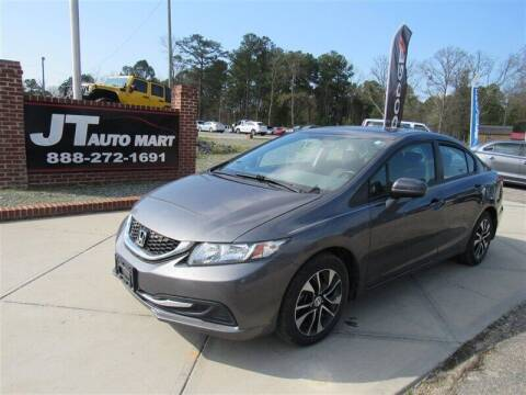 2015 Honda Civic for sale at J T Auto Group in Sanford NC