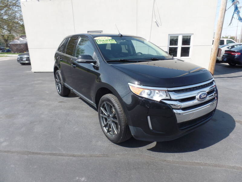 2014 Ford Edge for sale at DeLong Auto Group in Tipton IN