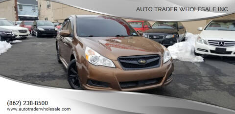 2012 Subaru Legacy for sale at Auto Trader Wholesale Inc in Saddle Brook NJ