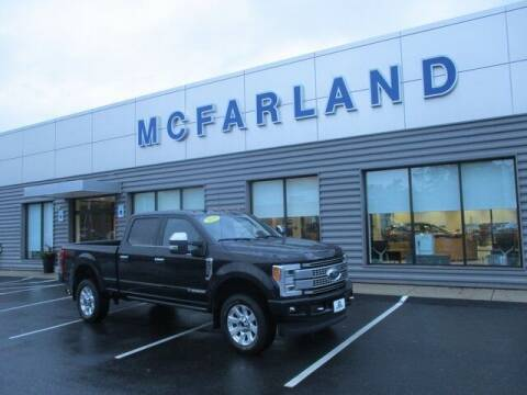 2019 Ford F-350 Super Duty for sale at MC FARLAND FORD in Exeter NH