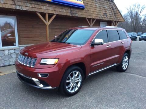 2014 Jeep Grand Cherokee for sale at MOTORS N MORE in Brainerd MN