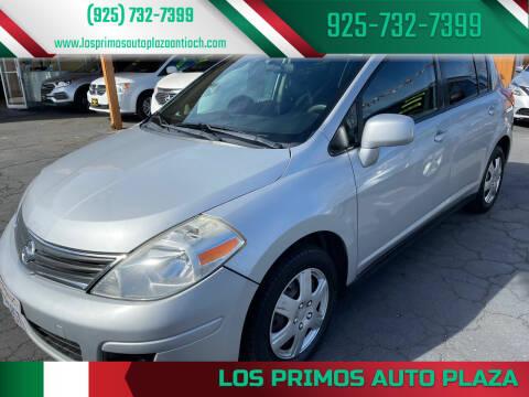 2012 Nissan Versa for sale at Los Primos Auto Plaza in Antioch CA