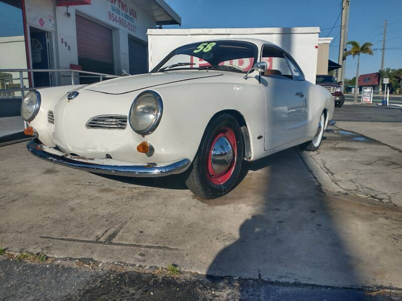 1960 Volkswagen Karmann Ghia for sale at TOP TWO USA INC in Oakland Park FL