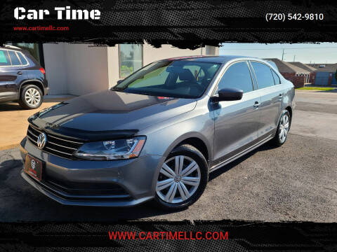2017 Volkswagen Jetta for sale at Car Time in Denver CO