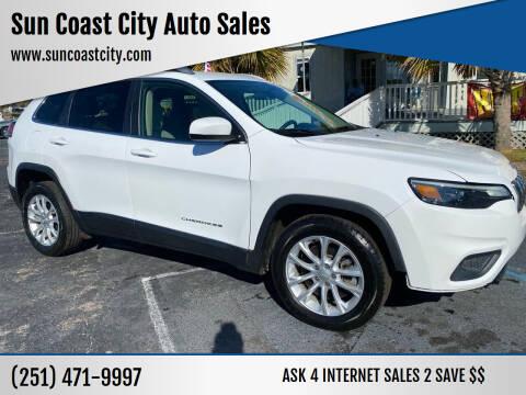 2019 Jeep Cherokee for sale at Sun Coast City Auto Sales in Mobile AL