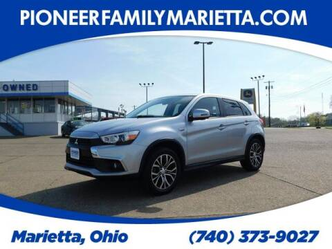 2017 Mitsubishi Outlander Sport for sale at Pioneer Family preowned autos in Williamstown WV