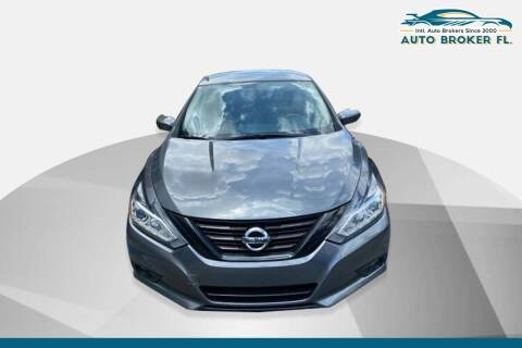 2017 Nissan Altima for sale at INTERNATIONAL AUTO BROKERS INC in Hollywood FL