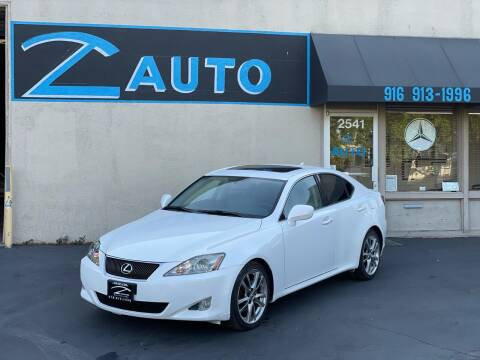 2008 Lexus IS 250 for sale at Z Auto in Sacramento CA