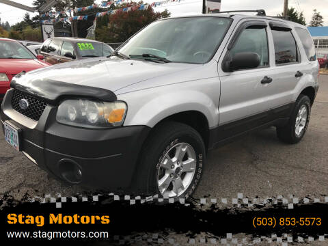 2006 Ford Escape for sale at Stag Motors in Portland OR