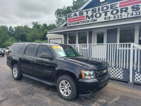 2013 Chevrolet Suburban for sale at EASTSIDE MOTORS in Tulsa OK