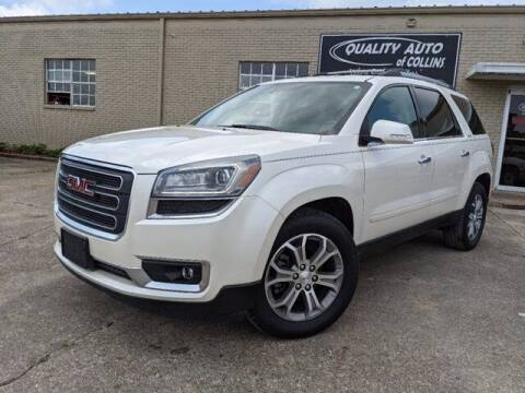 2014 GMC Acadia for sale at Quality Auto of Collins in Collins MS