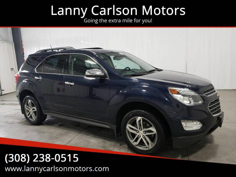 2017 Chevrolet Equinox for sale at Lanny Carlson Motors in Kearney NE