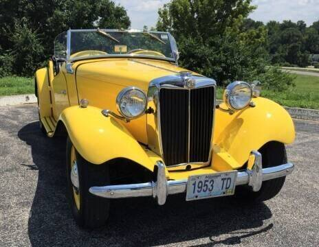 1953 MG TD for sale at Its Alive Automotive in Saint Louis MO