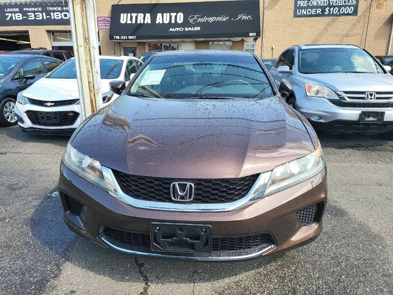 2013 Honda Accord for sale at Ultra Auto Enterprise in Brooklyn NY