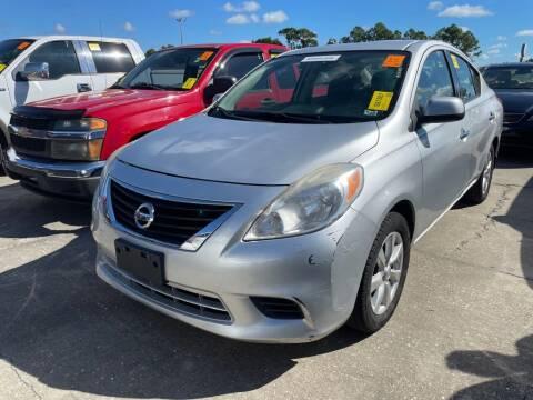 2014 Nissan Versa for sale at Krifer Auto LLC in Sarasota FL