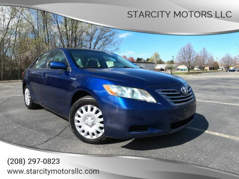 2008 Toyota Camry Hybrid for sale at StarCity Motors LLC in Garden City ID