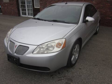 2010 Pontiac G6 for sale at Tewksbury Used Cars in Tewksbury MA