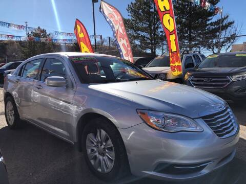 2012 Chrysler 200 for sale at Duke City Auto LLC in Gallup NM
