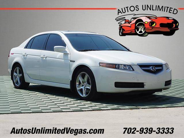 2005 Acura TL for sale at Autos Unlimited in Las Vegas NV