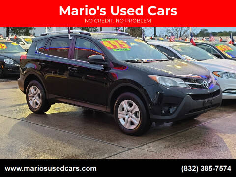 2014 Toyota RAV4 for sale at Mario's Used Cars in Houston TX