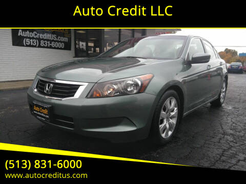 2008 Honda Accord for sale at Auto Credit LLC in Milford OH