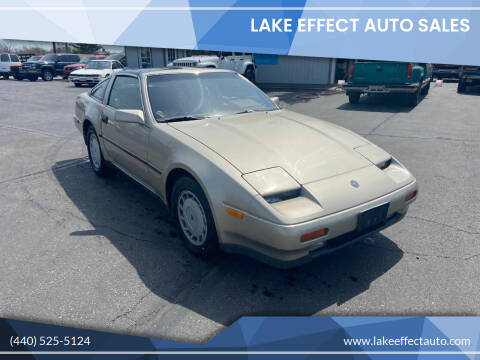 1988 Nissan 300ZX for sale at Lake Effect Auto Sales in Chardon OH