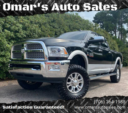2016 RAM Ram Pickup 2500 for sale at Omar's Auto Sales in Martinez GA