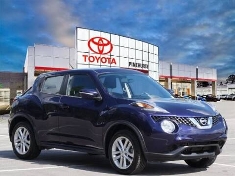 2017 Nissan JUKE for sale at PHIL SMITH AUTOMOTIVE GROUP - Pinehurst Toyota Hyundai in Southern Pines NC