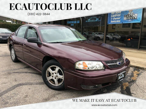 2004 Chevrolet Impala for sale at ECAUTOCLUB LLC in Kent OH